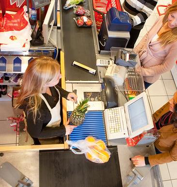 supermarket teller image